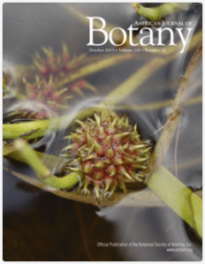 Cover of American Journal of Botany