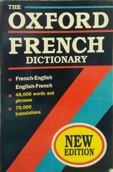 The Oxford French Dictionary (Michael Janes) French - English ; English - French