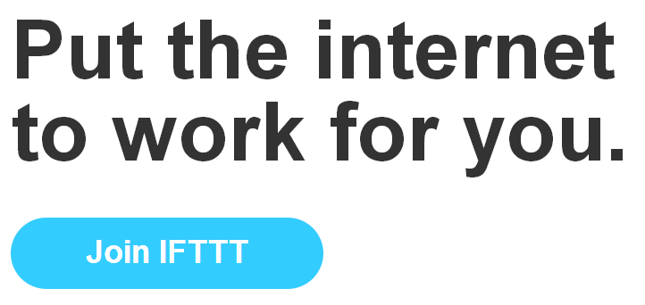 best websites - productivity - ifttt