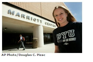 Brigham Young University: No. 1 Stone Cold Sober School