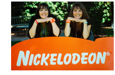 Ashley and Josilin from the Nickelodeon Animation Studios internship