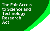 The Fair Access to Science and Technology Research Act logo
