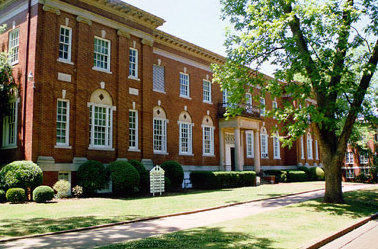 image of Bloch Hall at the University of Montevallo