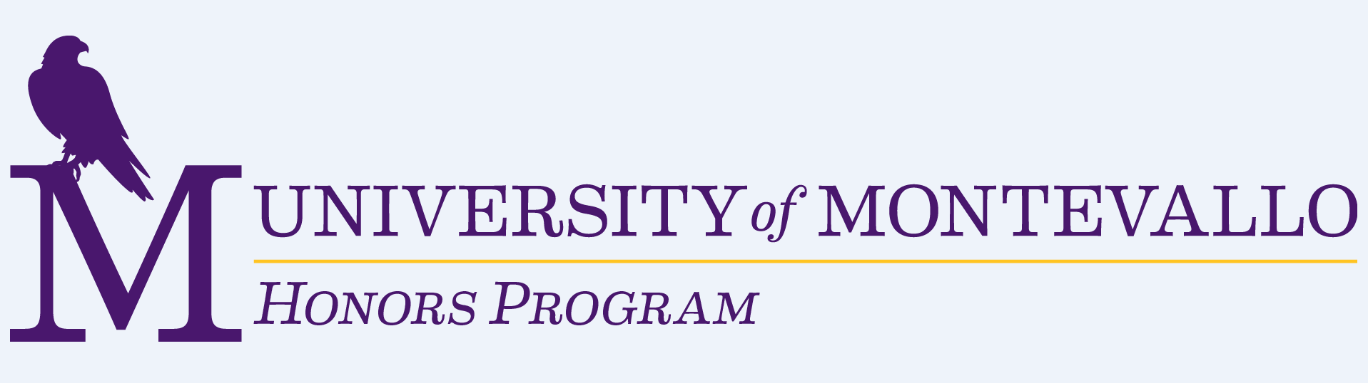 University of Montevallo honors program logo