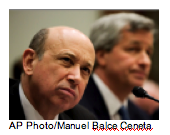 Lloyd Blankfein and Jamie Dimon