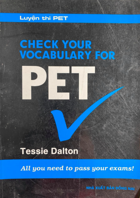 Check your vocabulary for pet, Tessie Dalton, All you need to pass your exams!