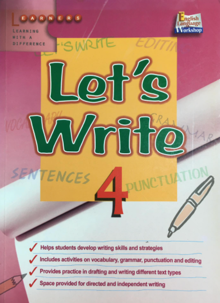 Let's write 4, Learners Publishing