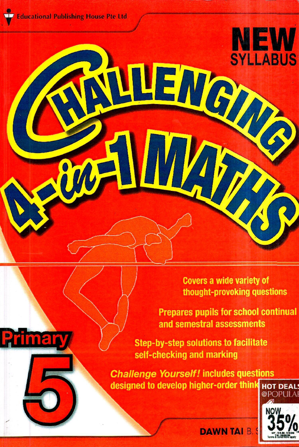 Challening 4-in-1 Maths, Primary 5, Educational Publishing House