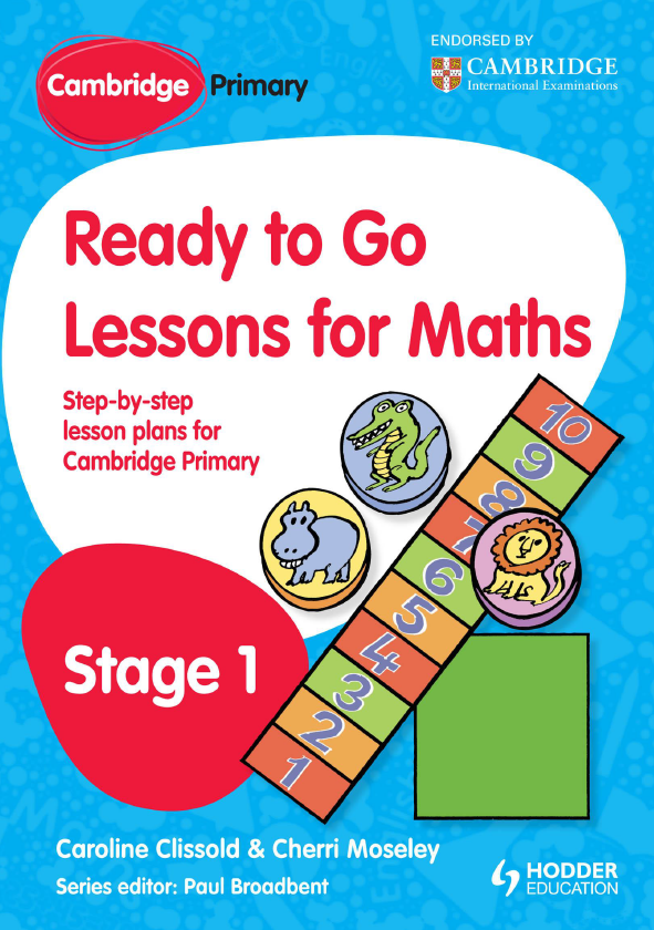 Bộ sách toán Cambridge Ready to go lessons for Maths, Cambridge Primary, Stage 1,3,4,5,6