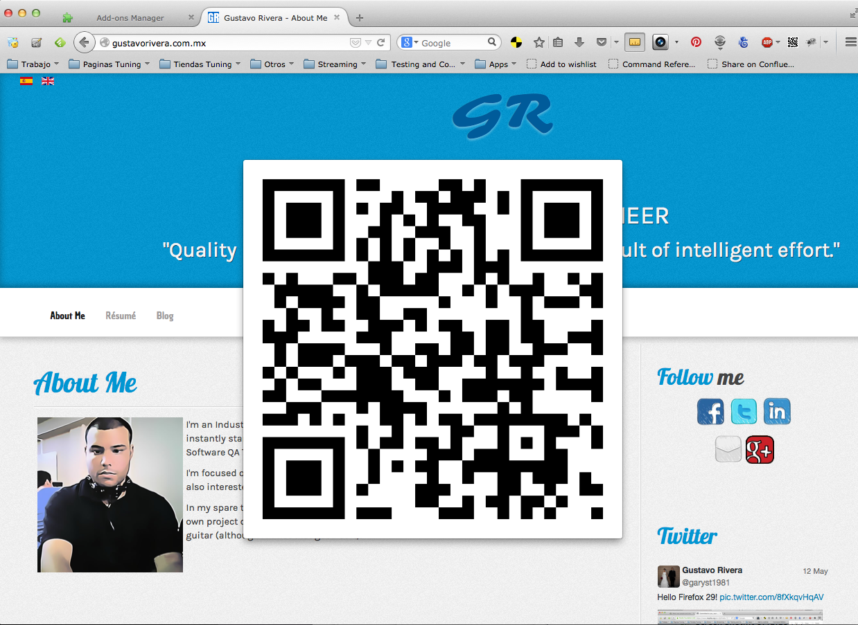 URLToQRCode Screenshot