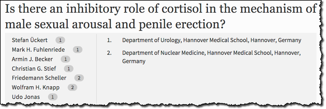 Is there an inhibitory role of cortisol in the mechanism of male sexual arousal and penile erection?