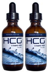 2 bottles of hcg drops