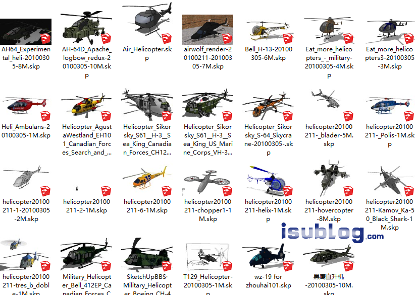 helicopter_model_download
