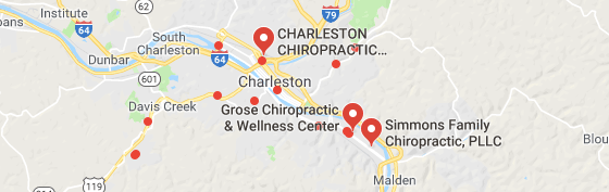 chiropractors and clinics in Charleston west virginia you can visit.