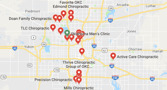chiropractors and clinics in Oklahoma City you can visit.