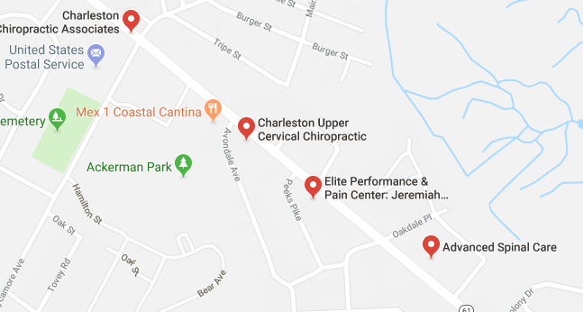 chiropractors and clinics in Charleston you can visit.