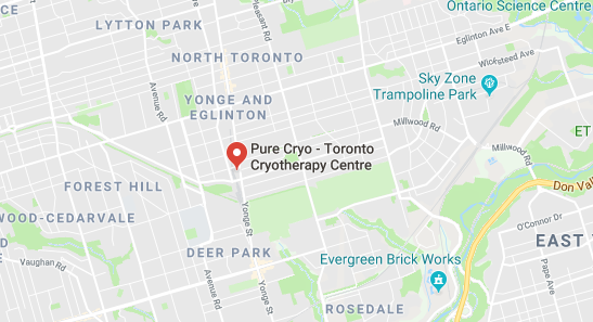 Top Cryotherapy in Toronto Canada