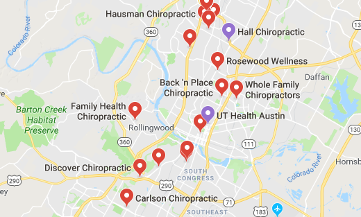 Here are some chiropractors and clinics in Austin you can visit.