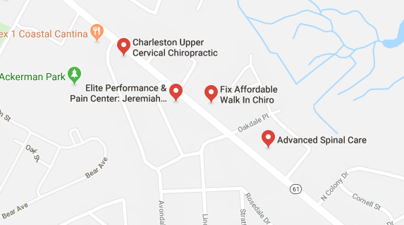 chiropractors and clinics in North Charleston you can visit.