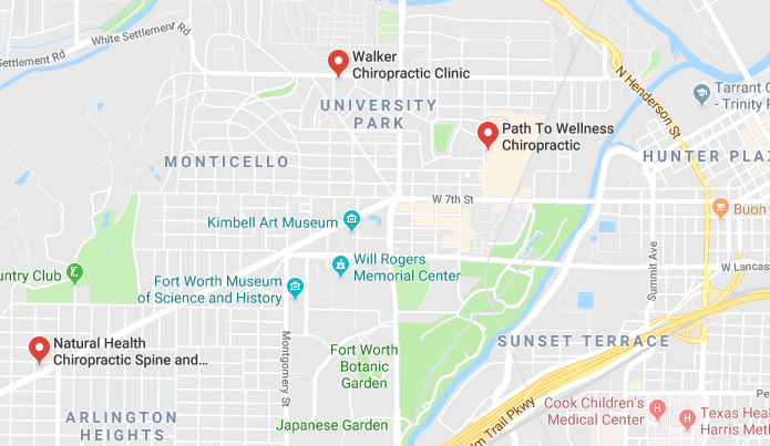 Here are some chiropractors and clinics in Fort Worth you can visit.