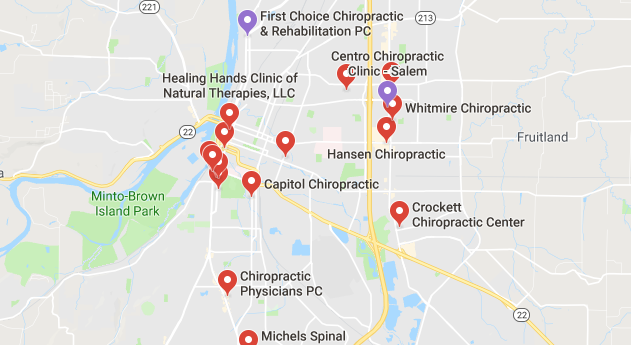 chiropractors and clinics in Salem you can visit.