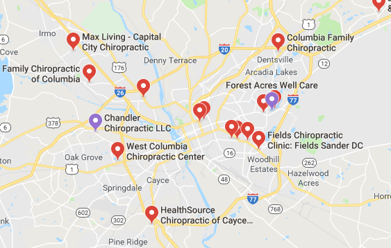 chiropractors and clinics in Columbia you can visit.