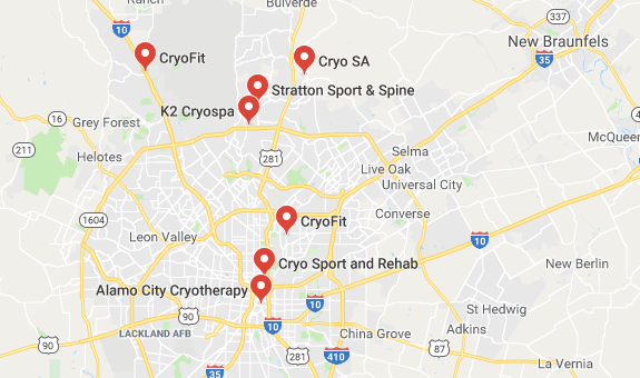 Top Cryotherapy in San Antonio