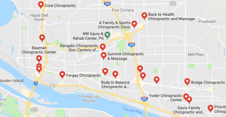 Here are some chiropractors and clinics in Vancouver you can visit.