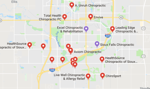 chiropractors and clinics in Sioux Falls you can visit.