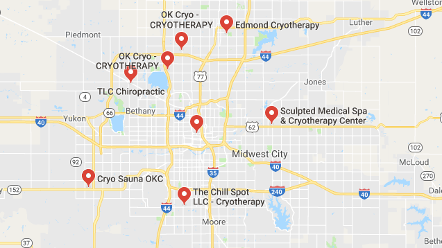 Top Cryotherapy in Oklahoma City