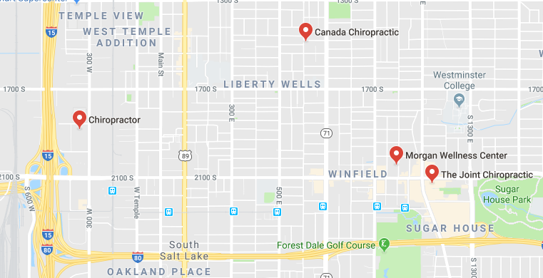 Here are some chiropractors and clinics in Salt Lake City you can visit.