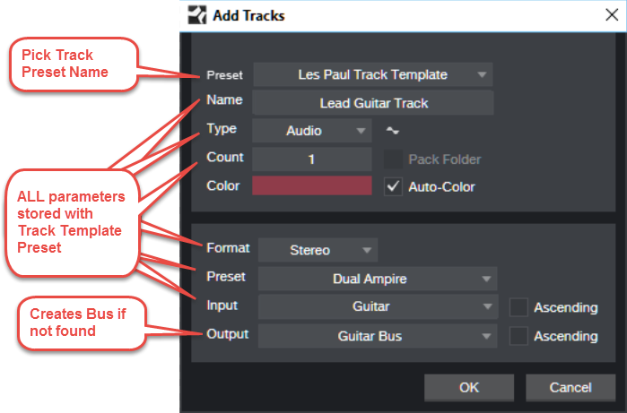 Simple Audio Preset