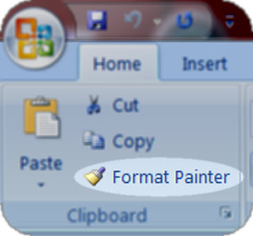 context for Format Painter