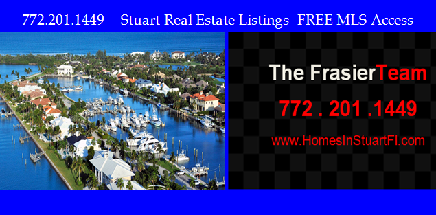 Stuart Fl Waterfront properties