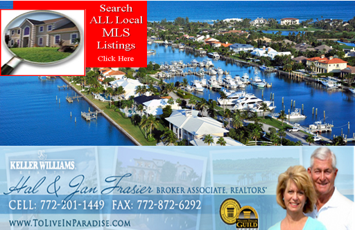 Become a FREE Member on our Up-To-Date Real Estate website www.HomesinStuartFl.com