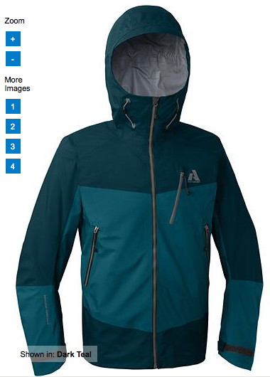 First Ascent Rainier jacket