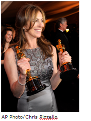 Kathryn Bigelow Oscar night