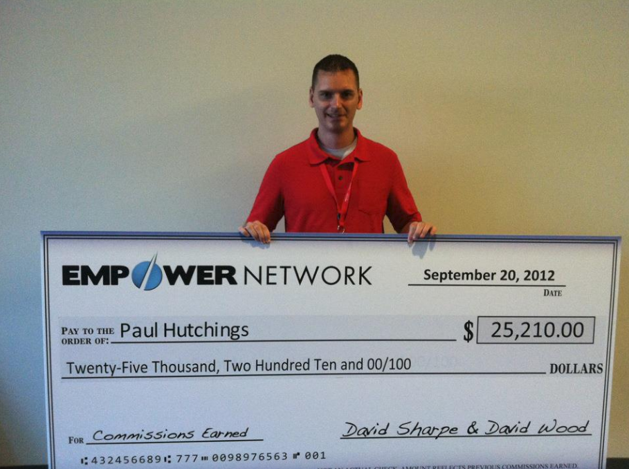 Paul Hutchings Empower Network Check