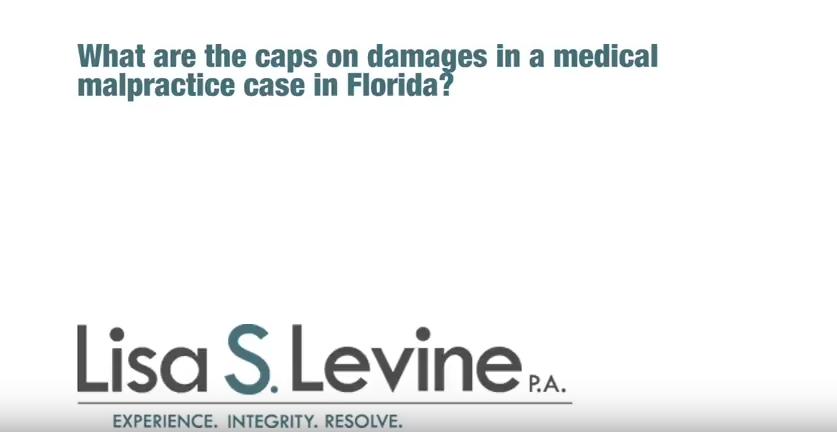 What are the caps on damages in a medical malpractice case in Florida?