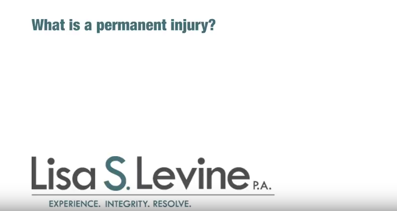 What is a permanent injury?