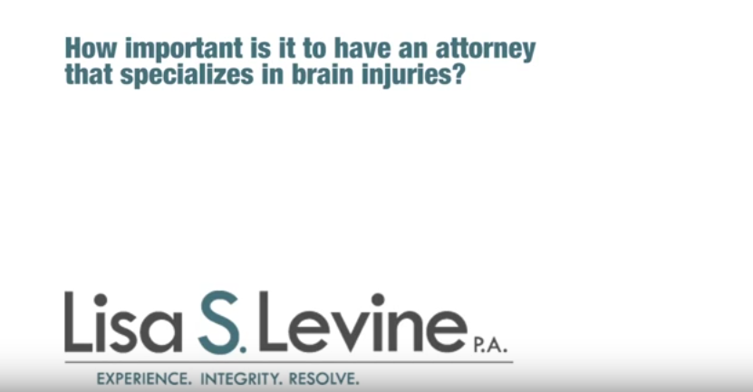 How important is it to have an attorney that specializes in brain injuries?