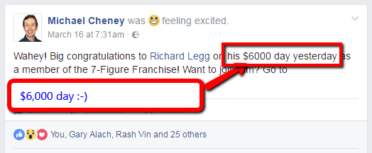 $6000 Day With 7 Figure Franchise
