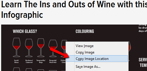 Copying Image Location