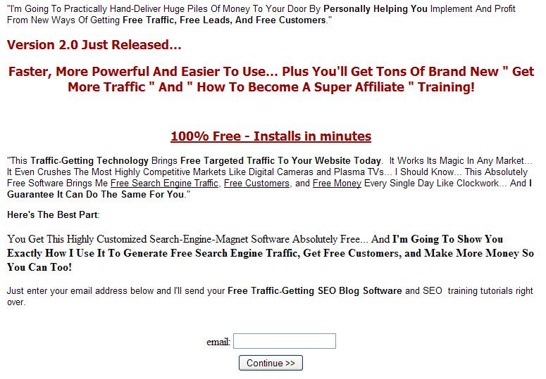 2009 08 23 2201 Free seo software and training   Jeff Johnson SEO Traffic Plugin 2.0