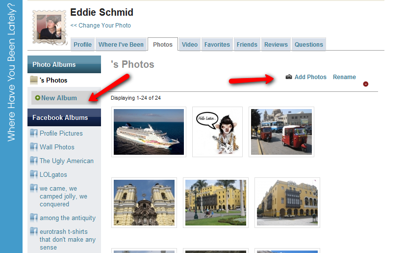 New feature: Multiple photo uploads